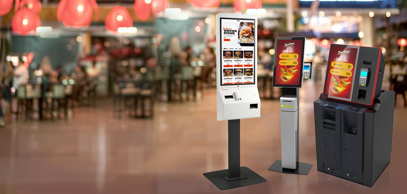 QSR, Order Entry Kiosks, KIOSK