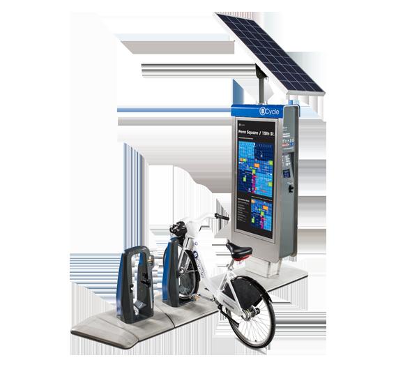 Rental BCycle Kiosk