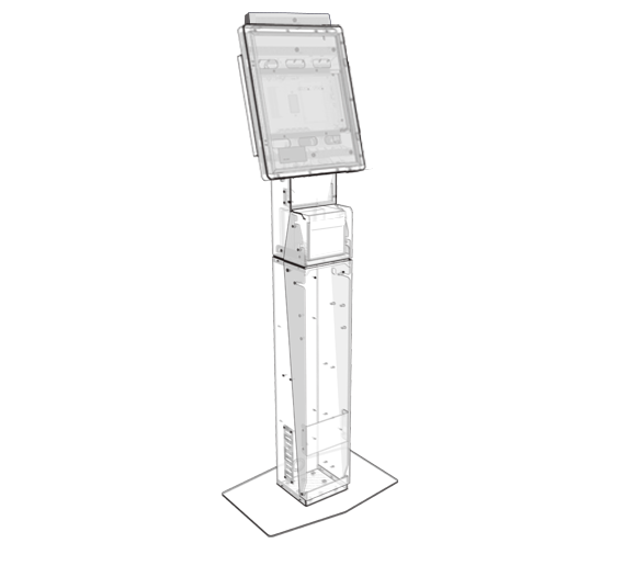 Access Series wireframe kiosk