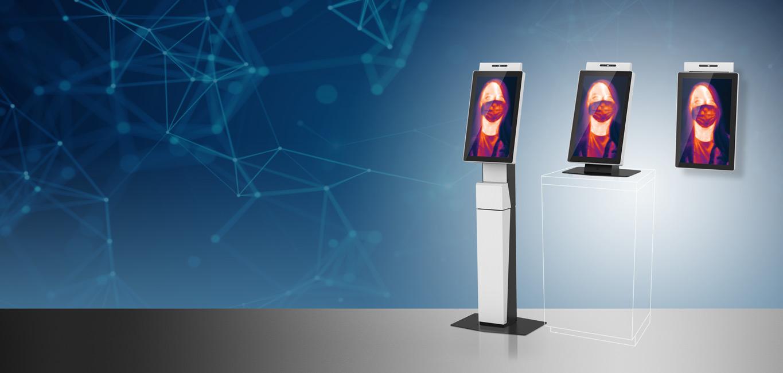 Access Temp Sensing Kiosk