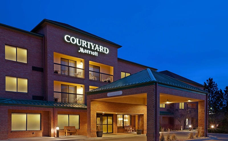 The Courtyard Marriott, Louisville