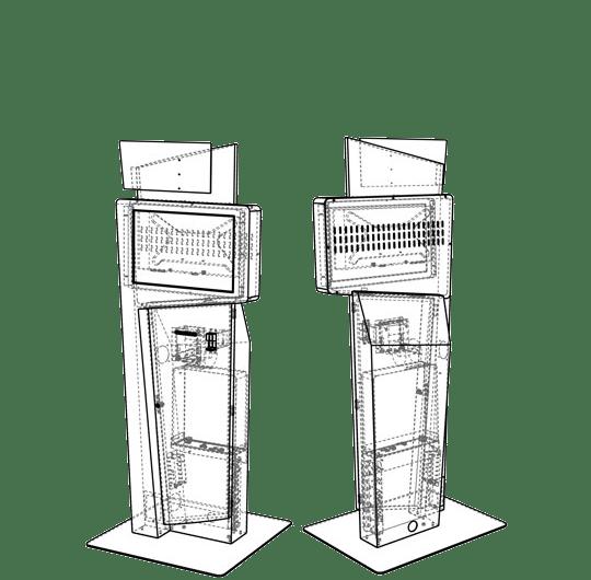 Kiosk Caddie Component Diagram