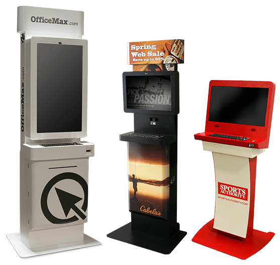 Kiosk Market Solutions Endless Aisle Kiosks