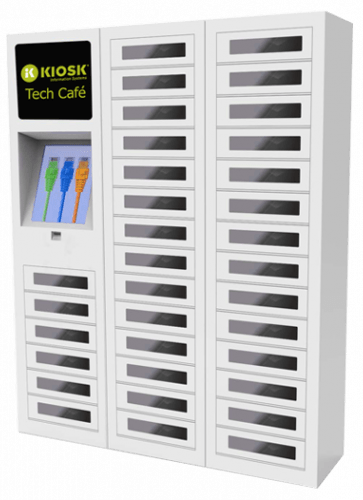Kiosk Market Solutions IT Distribution Locker Solutions