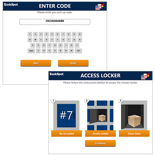 Kiosk Market Solutions Locker Software
