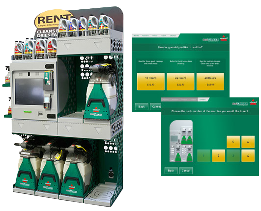 Market Solutions Rental Kiosks