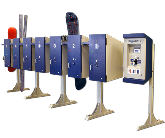 Kiosk Market Solutions RFID Lockers