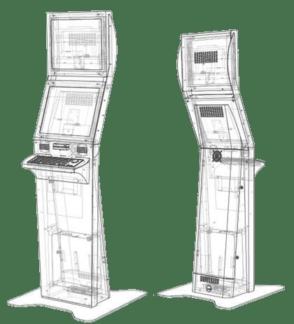 Kiosk Standard Kiosk Stealth Diagram