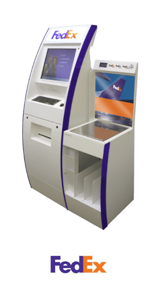 Kiosk Thinman FedEx
